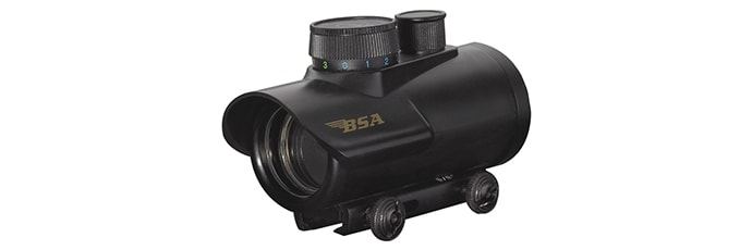 BSA 30 Scope with Illuminated Red, Green and Blue Dot Reticle