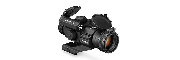 Vortex Optics StrikeFire 2 Red Green Dot Sight with Cantilever Mount